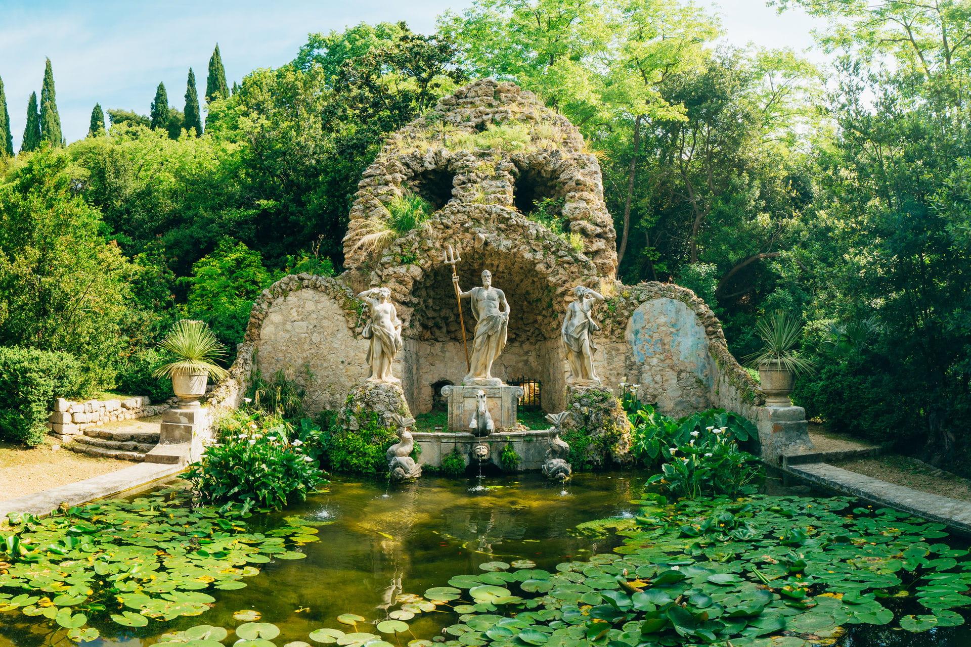 High quality hoto of Arboretum Trsteno - Croatia