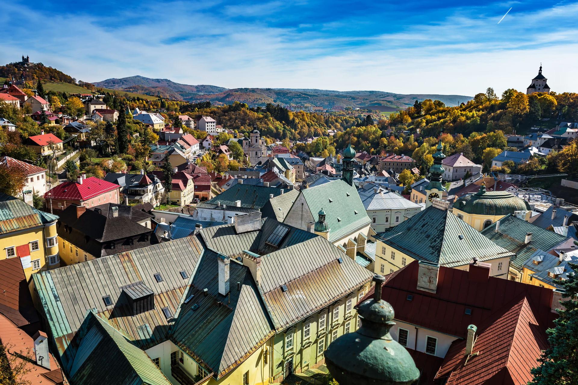 High quality hoto of Banska Stiavnica - Slovakia