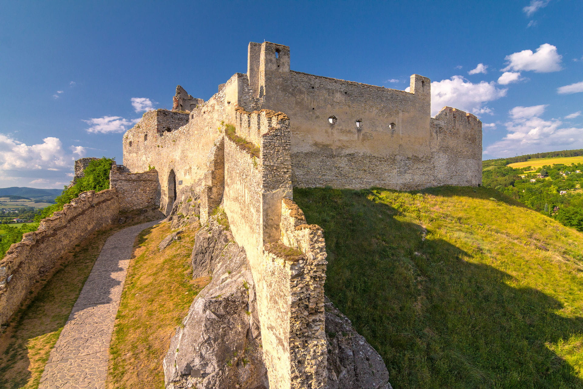 High quality hoto of Beckov Castle - Slovakia