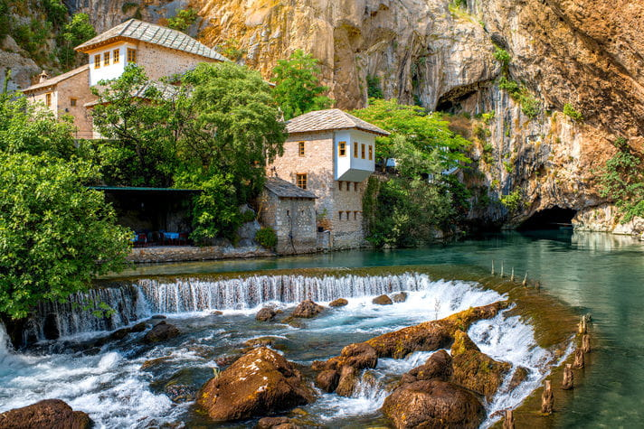 Quality photo of Blagaj Tekija Monastery - Bosnia and Herzegovina