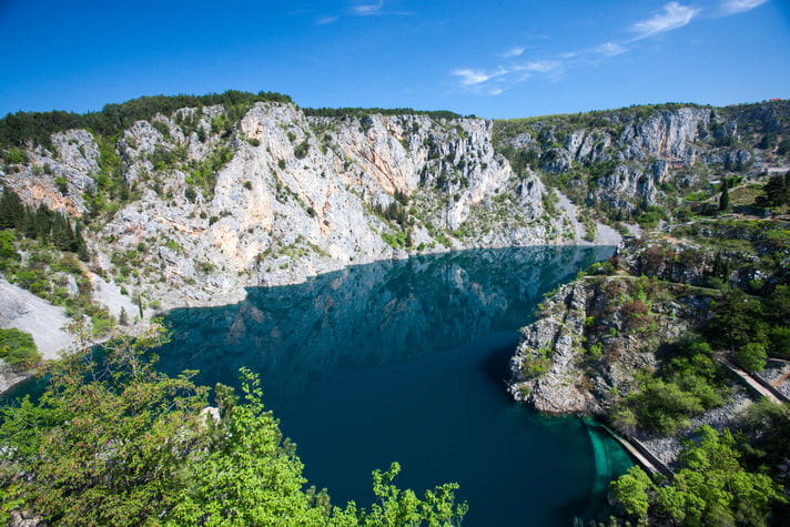 Quality photo of Blue Lake - Croatia
