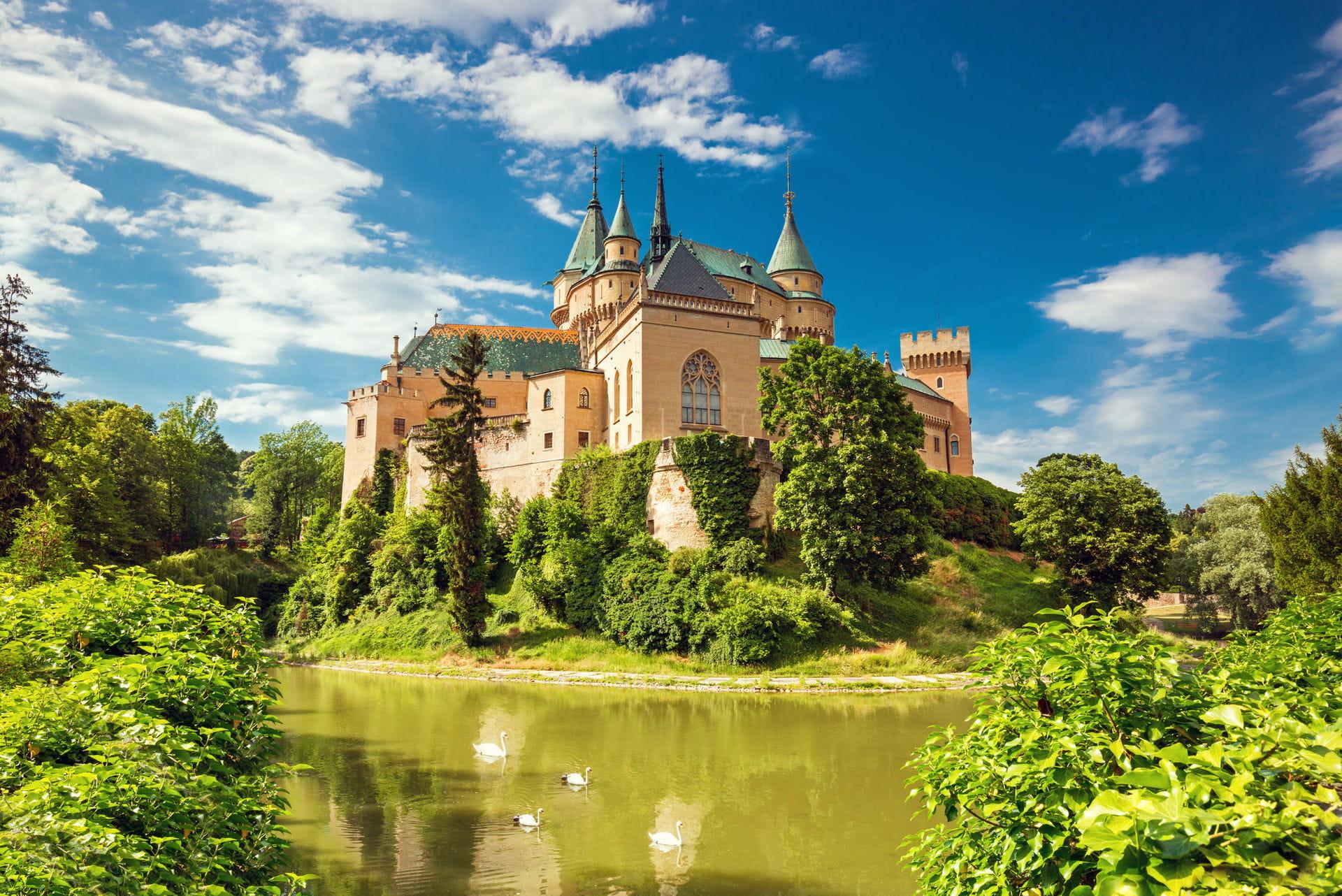 High quality hoto of Bojnice Castle Museum - Slovakia