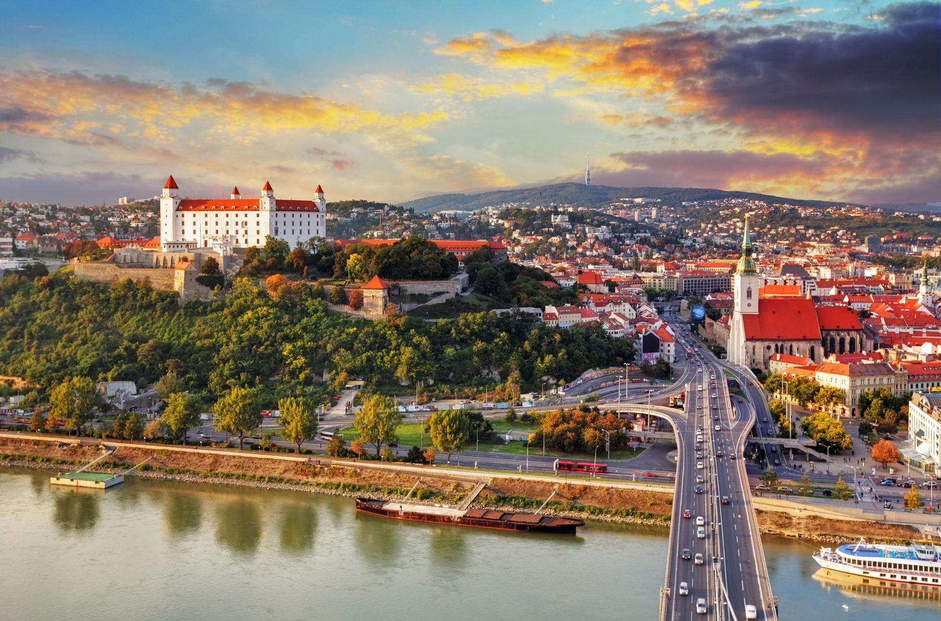 High quality hoto of Bratislava - Slovakia