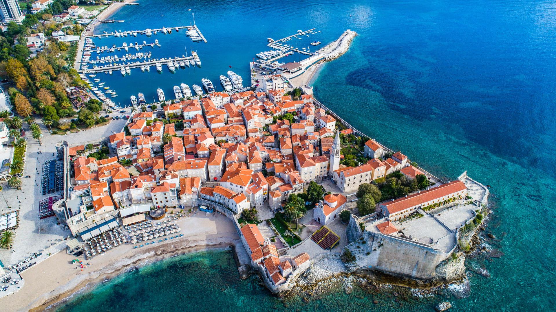 High quality hoto of Budva - Montenegro