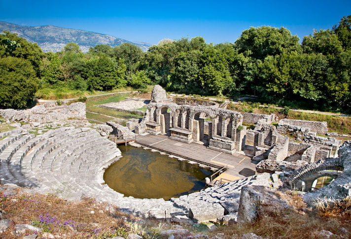Quality photo of Butrint - Albania
