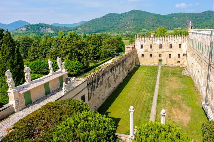Quality photo of Castello del Catajo - Italy