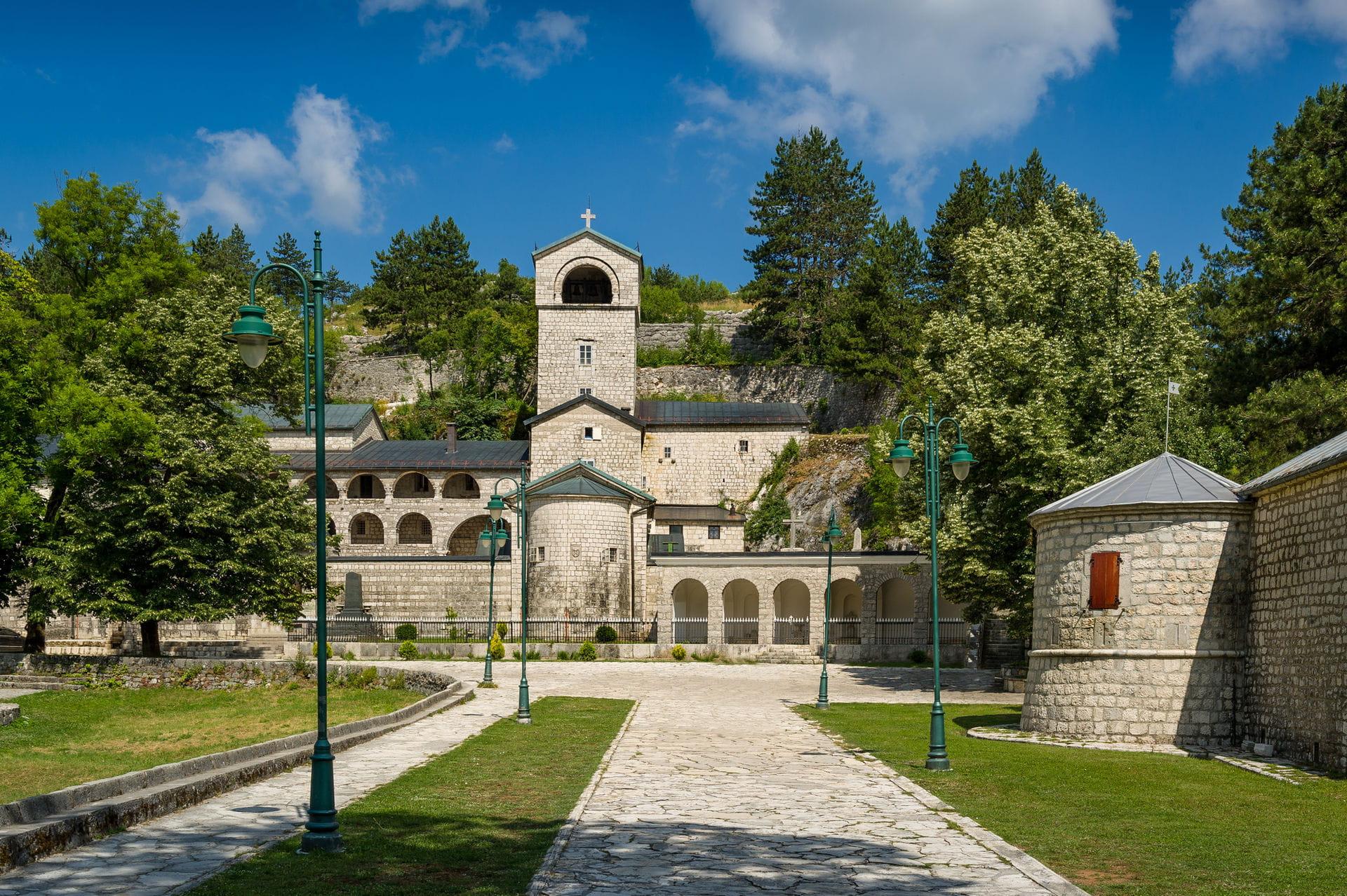 High quality hoto of Cetinje - Montenegro