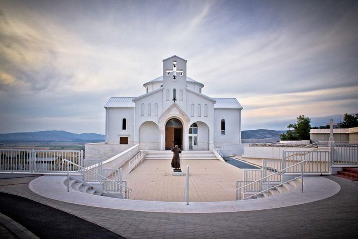 Quality photo of Croatian Martyrs Church - Croatia