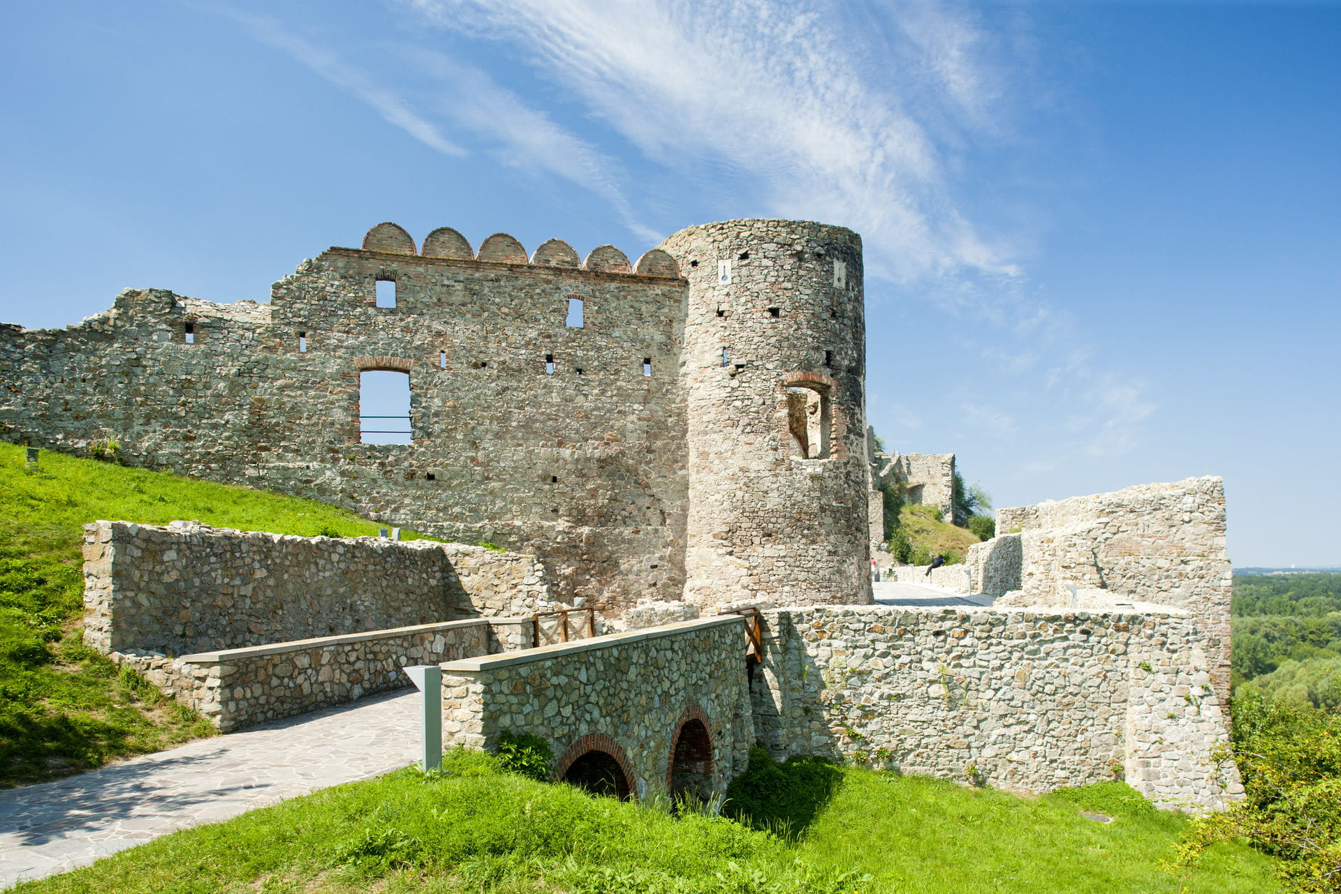 High quality hoto of Devin castle - Slovakia