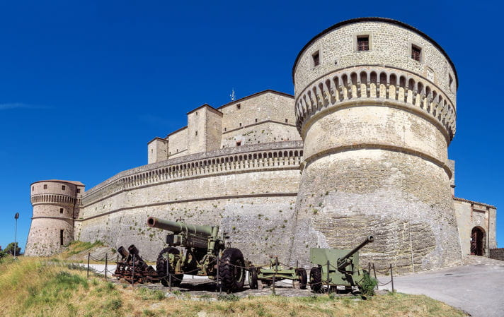 Quality photo of Forte di San Leo - Italy