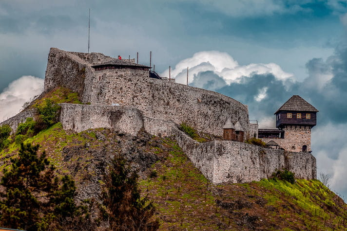 Quality photo of Fortress of Doboj - Bosnia and Herzegovina