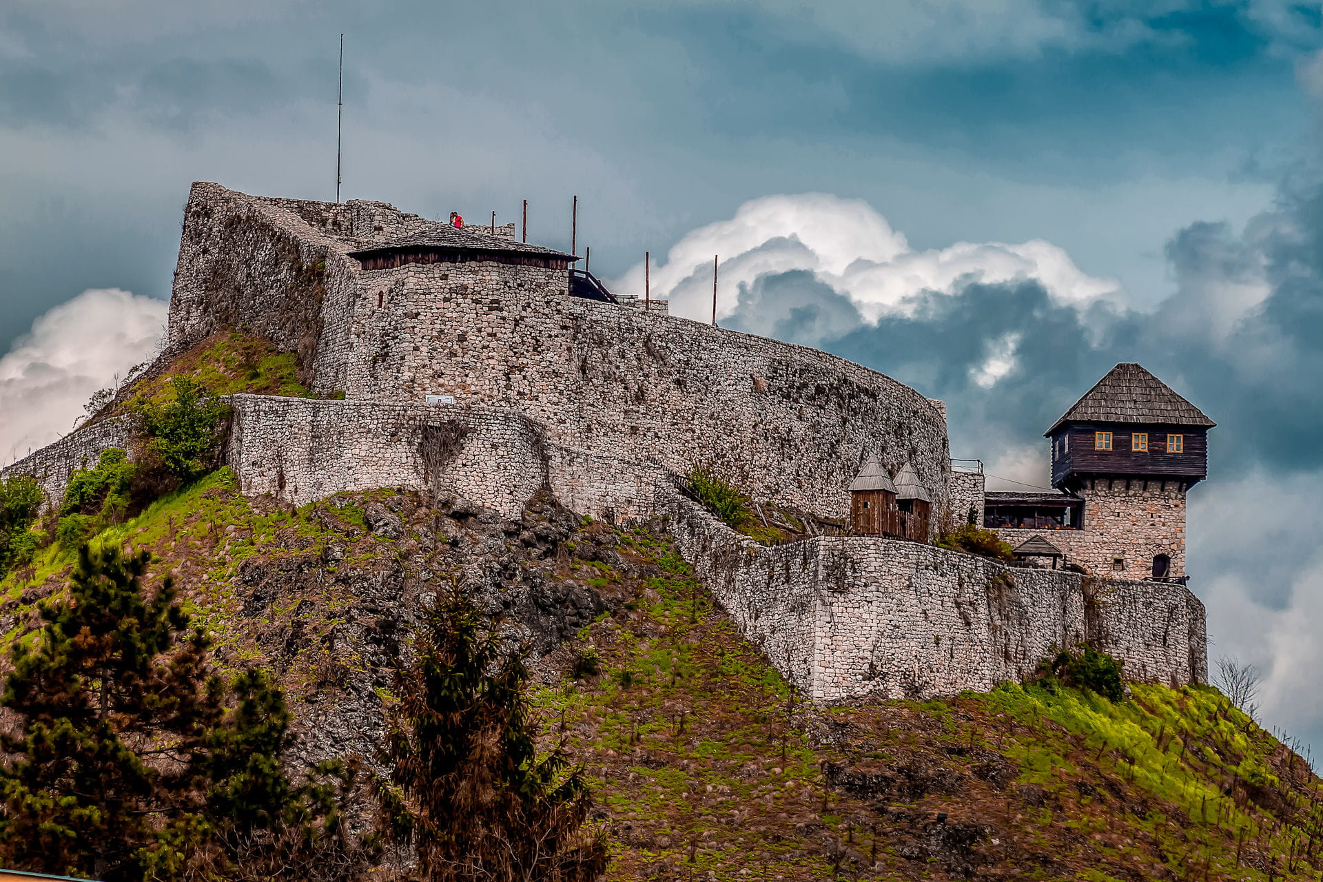 High quality hoto of Fortress of Doboj - Bosnia and Herzegovina