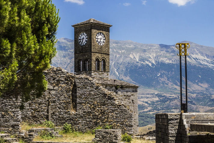 Quality photo of Gjirokaster - Albania