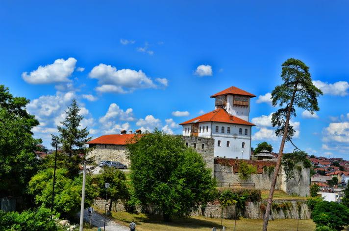 Quality photo of Gradacac Castle - Bosnia and Herzegovina