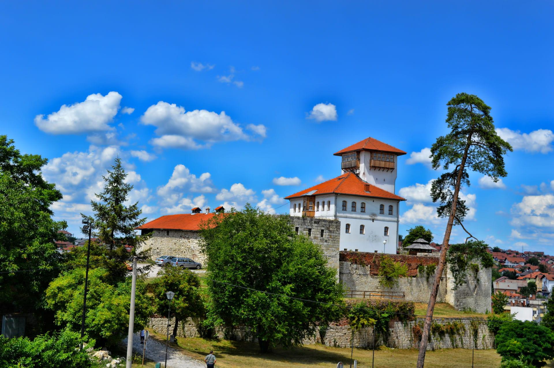 High quality hoto of Gradacac Castle - Bosnia and Herzegovina