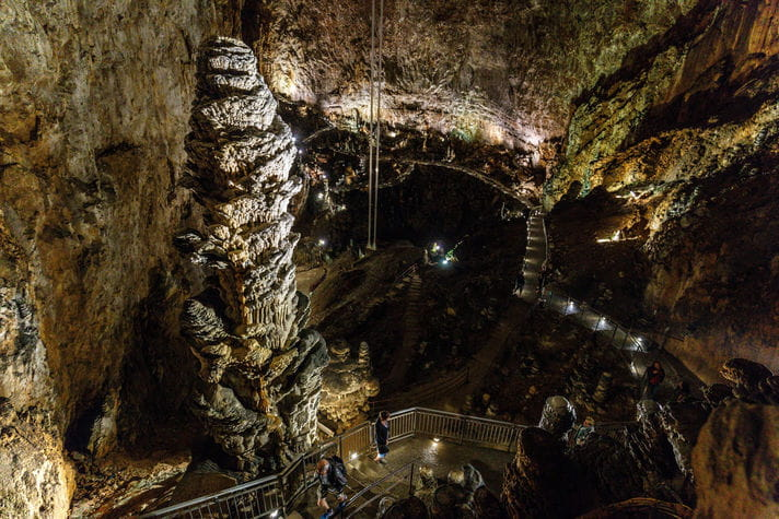 Quality photo of Grotta Gigante - Italy