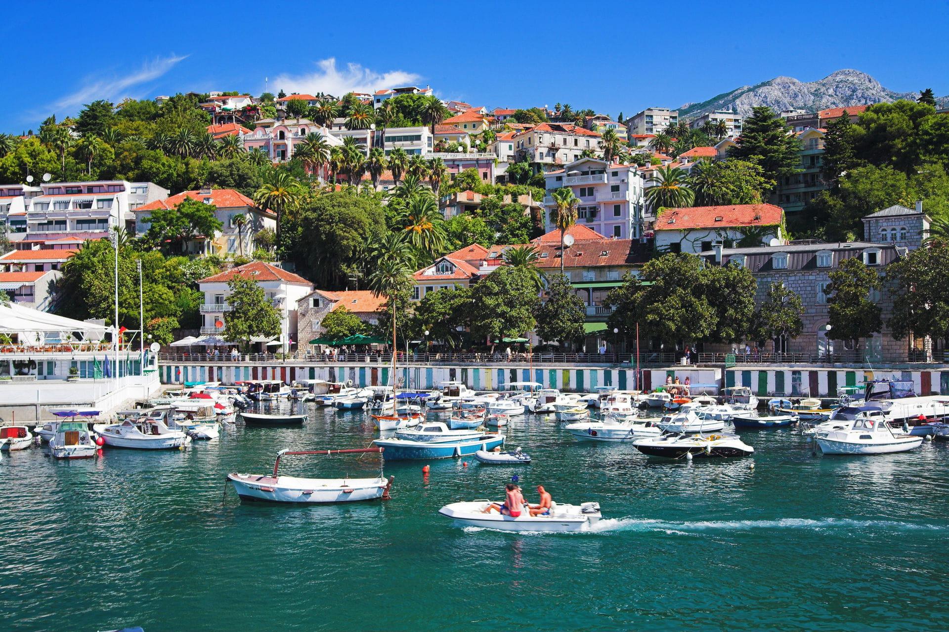 High quality hoto of Herceg Novi - Montenegro
