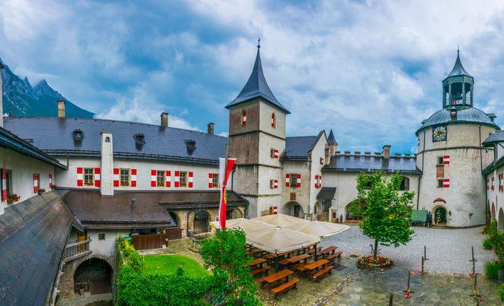 Quality photo of Hohenwerfen Castle - Austria