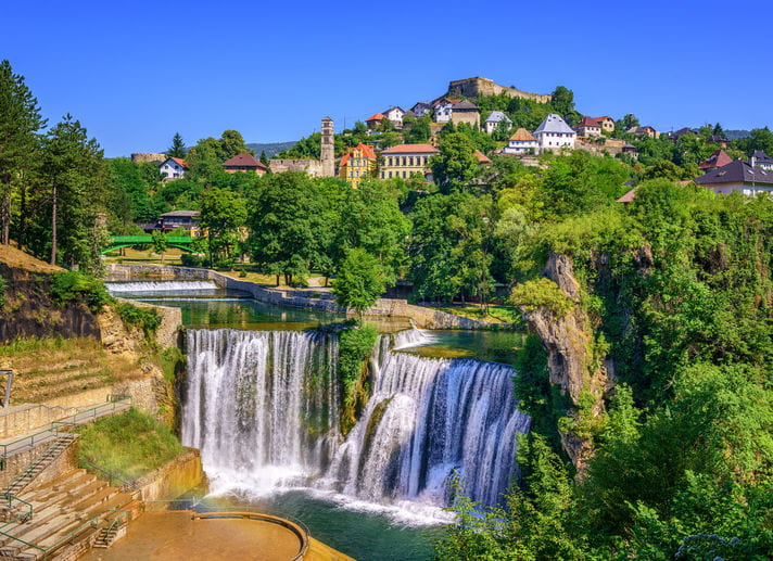 Quality photo of Jajce - Bosnia and Herzegovina