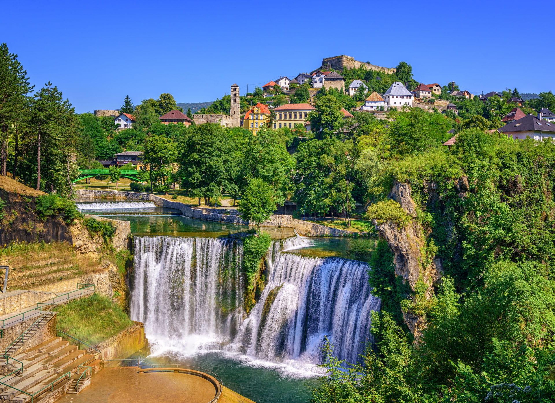 High quality hoto of Jajce - Bosnia and Herzegovina