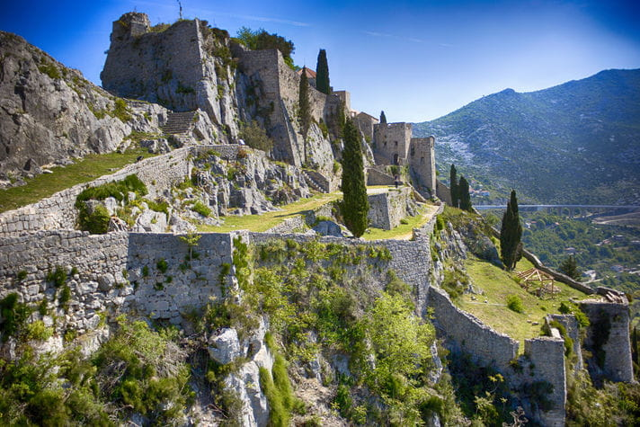 Quality photo of Klis Fortress - Croatia