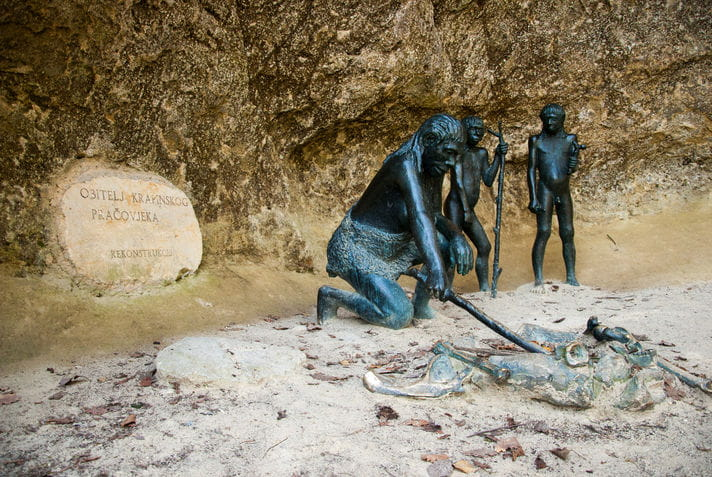 Quality photo of Krapina Neanderthal Museum - Croatia