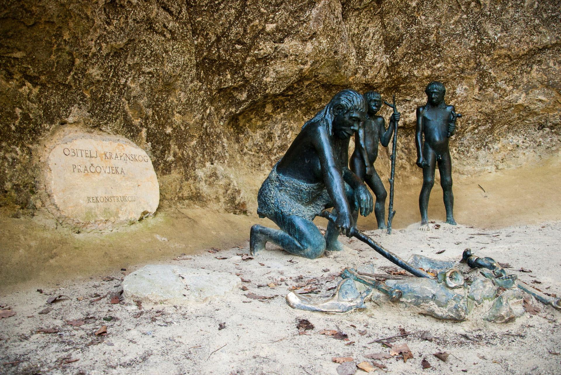High quality hoto of Krapina Neanderthal Museum - Croatia
