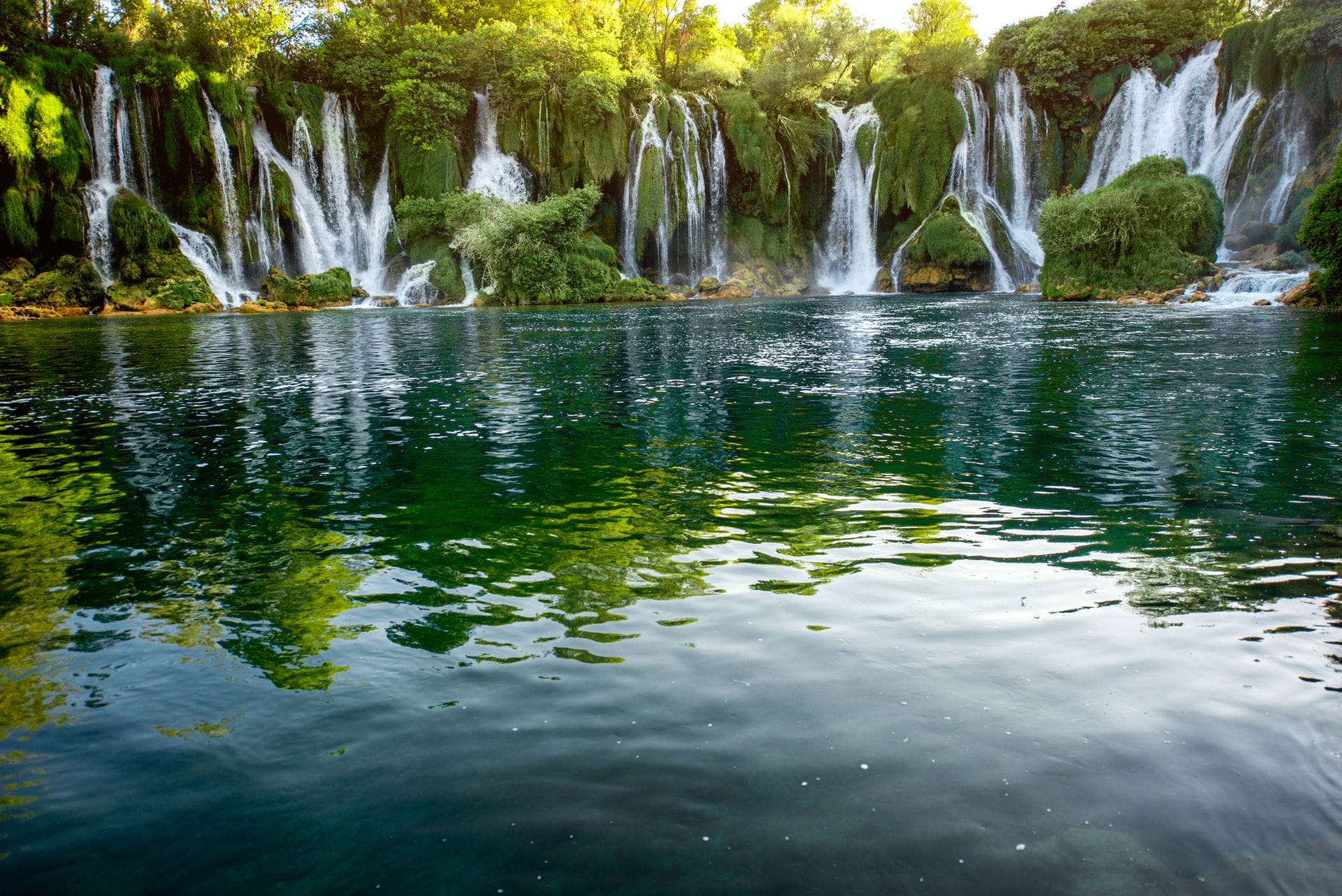 High quality hoto of Kravica Falls - Bosnia and Herzegovina