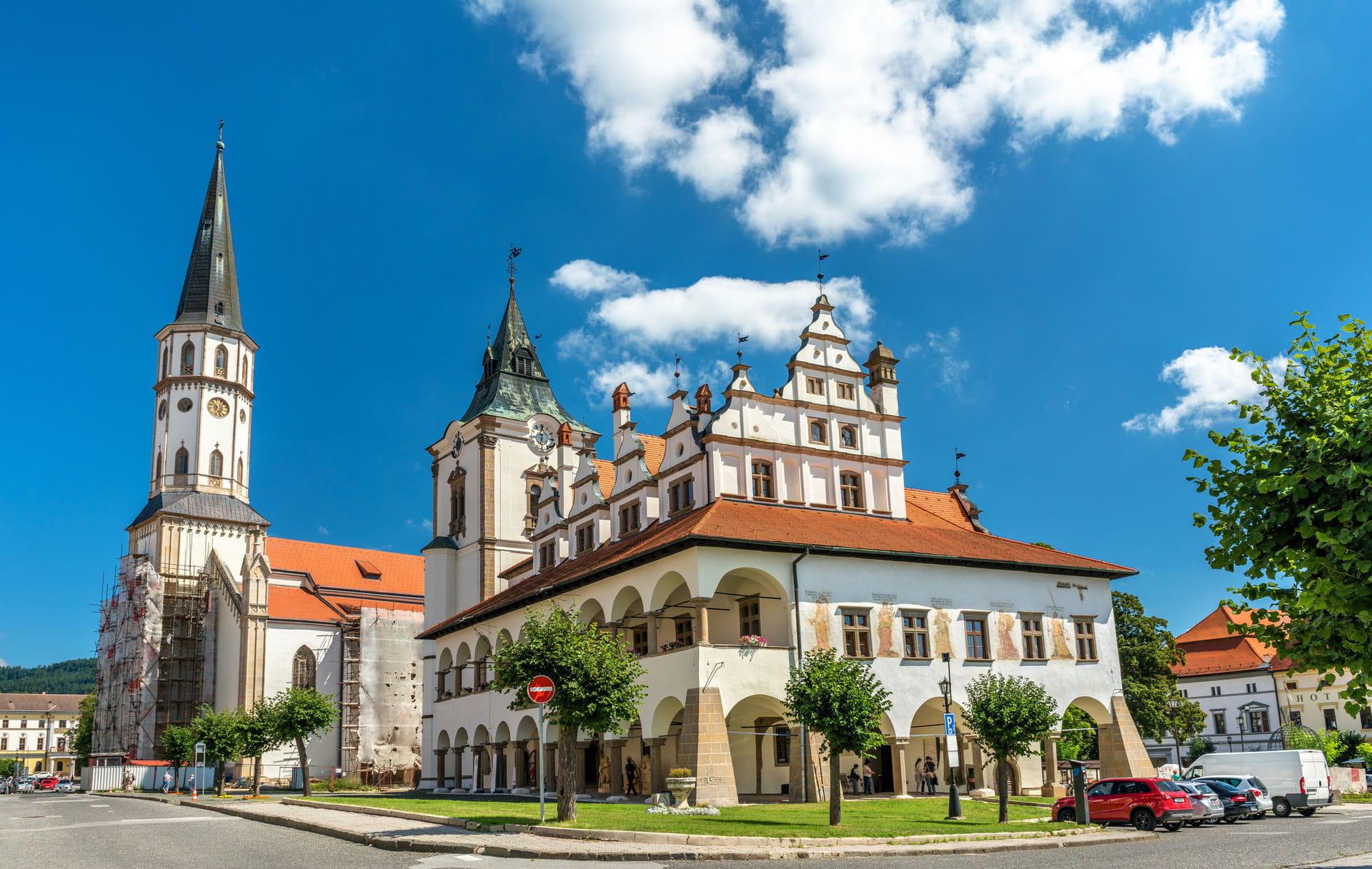 High quality hoto of Levoca - Slovakia