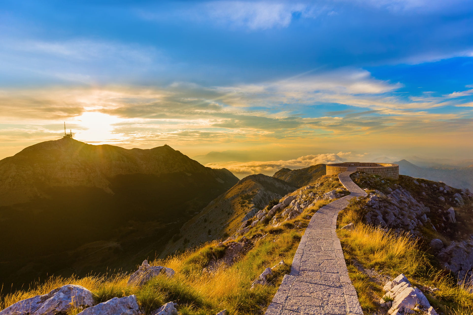 High quality hoto of Lovcen - Montenegro