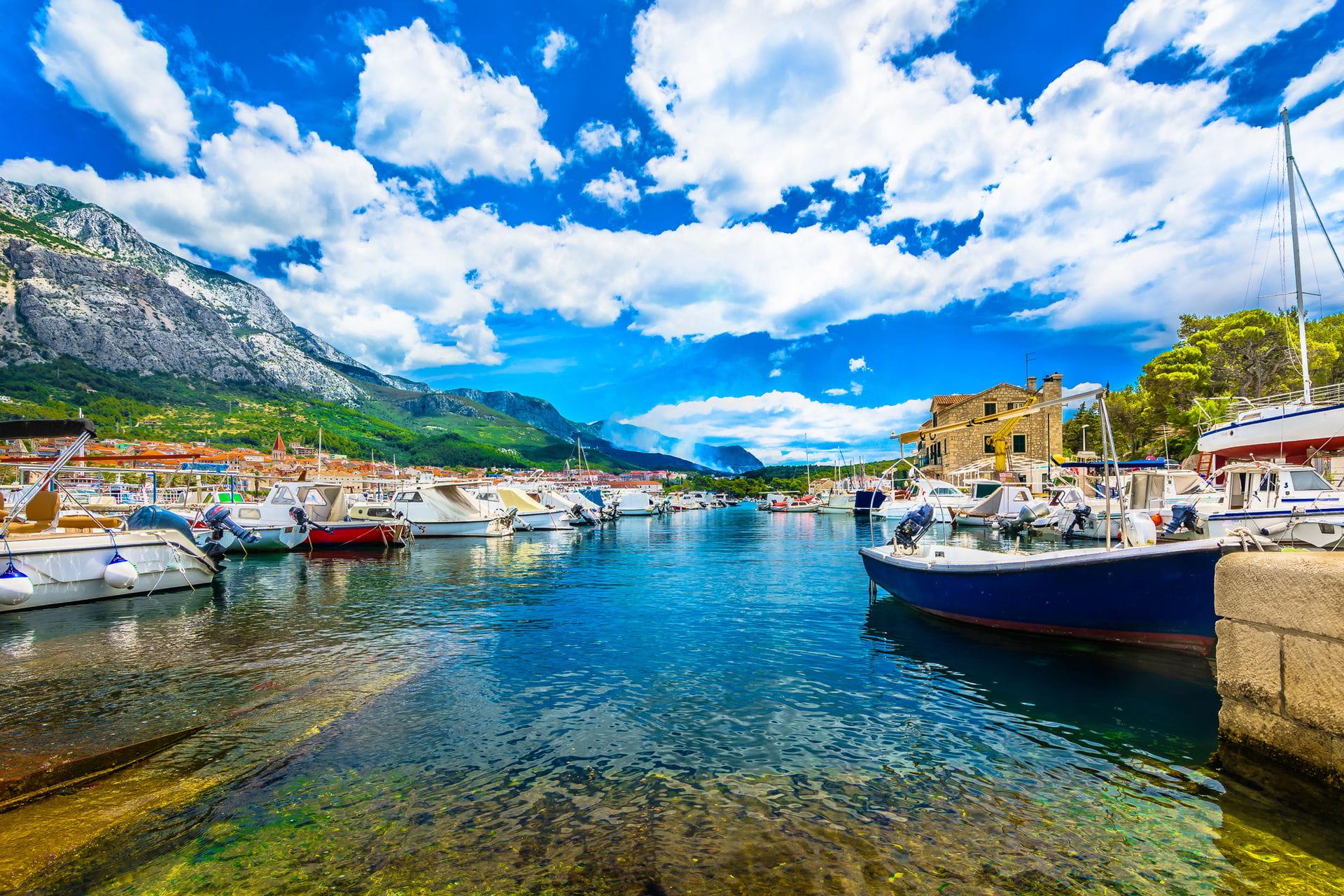 High quality hoto of Makarska - Croatia