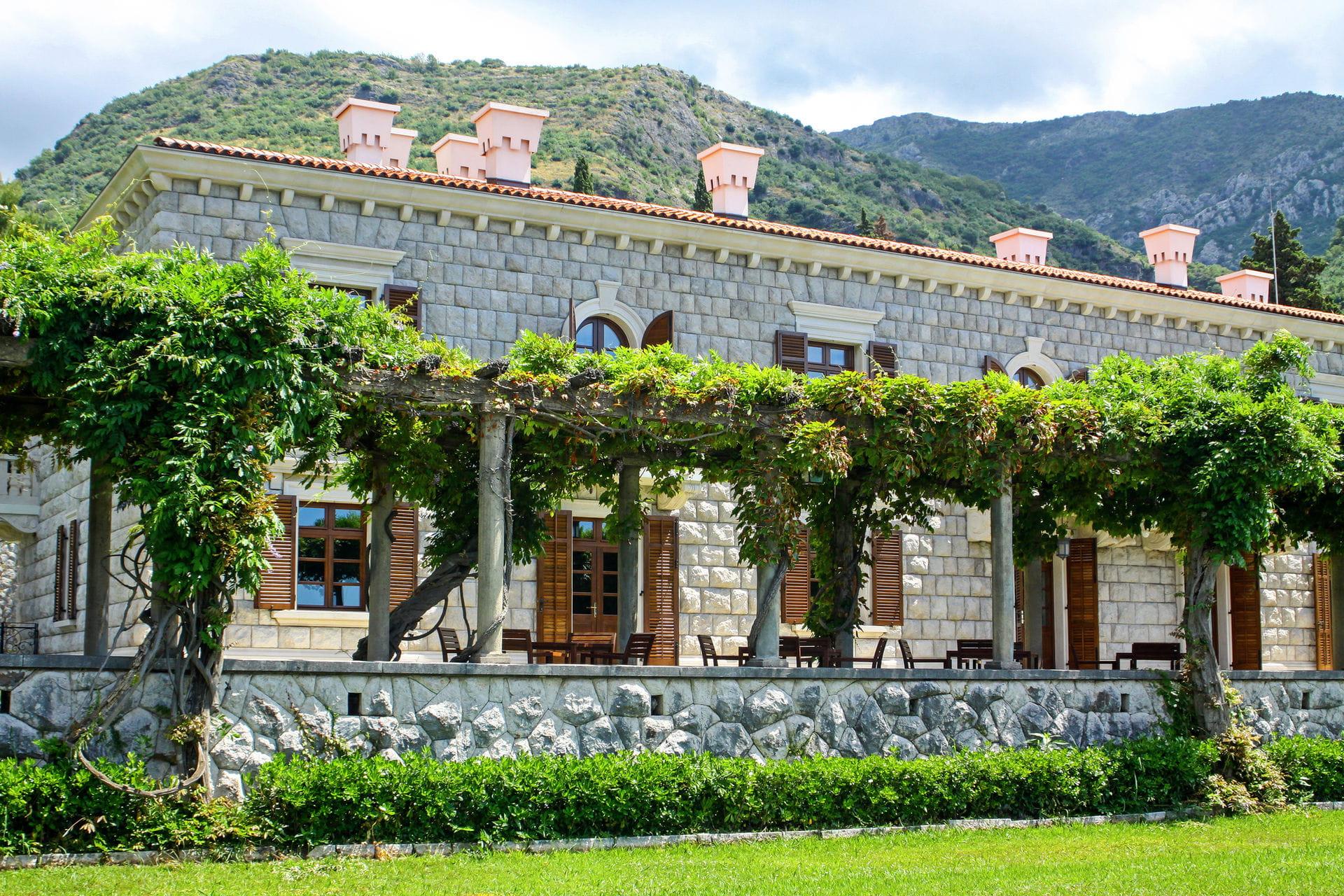 High quality hoto of Milocer Park - Montenegro