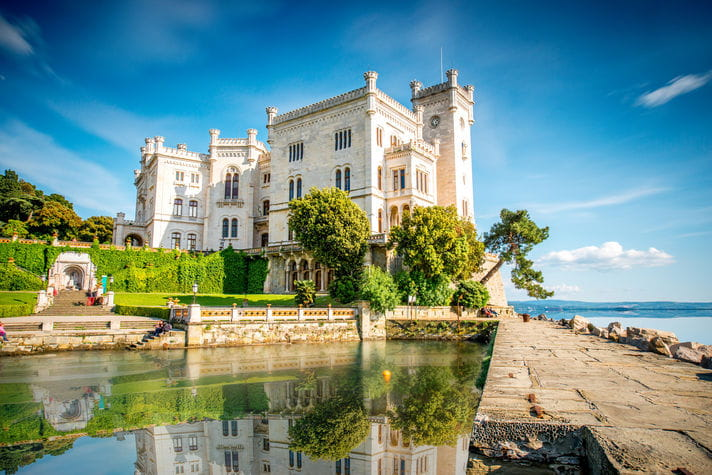 Quality photo of Miramare Castle - Italy