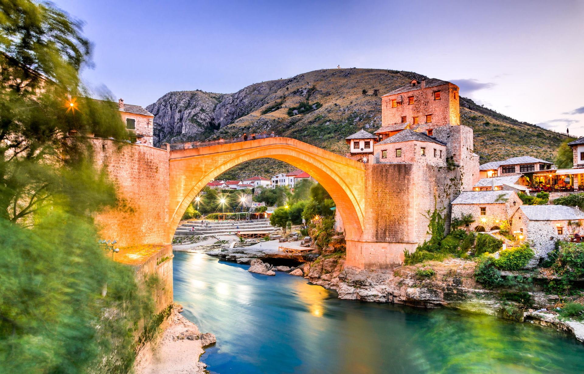High quality hoto of Mostar - Bosnia and Herzegovina
