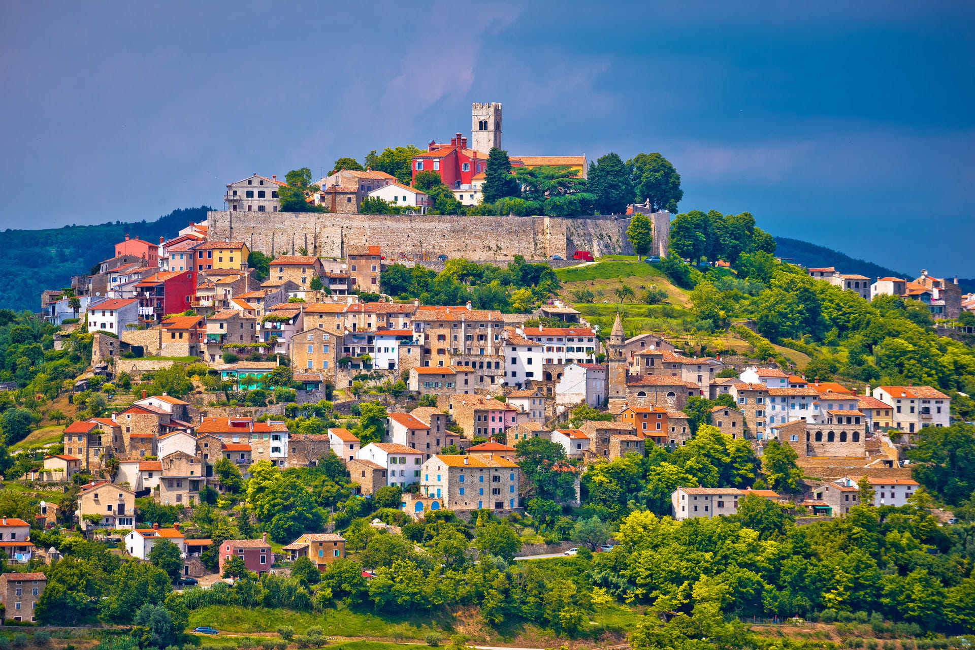 High quality hoto of Motovun - Croatia