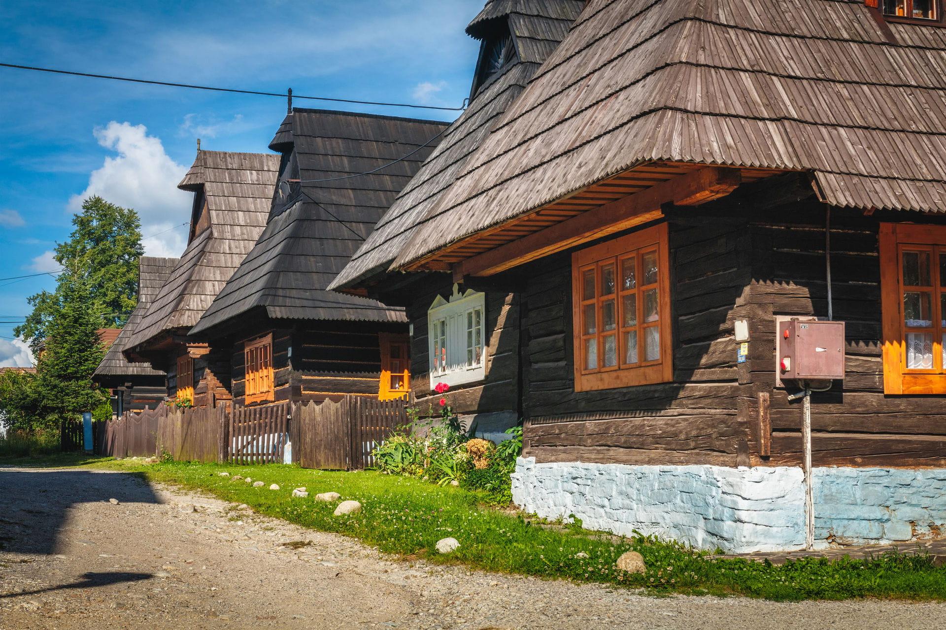 High quality hoto of Museum of Orava Village - Slovakia