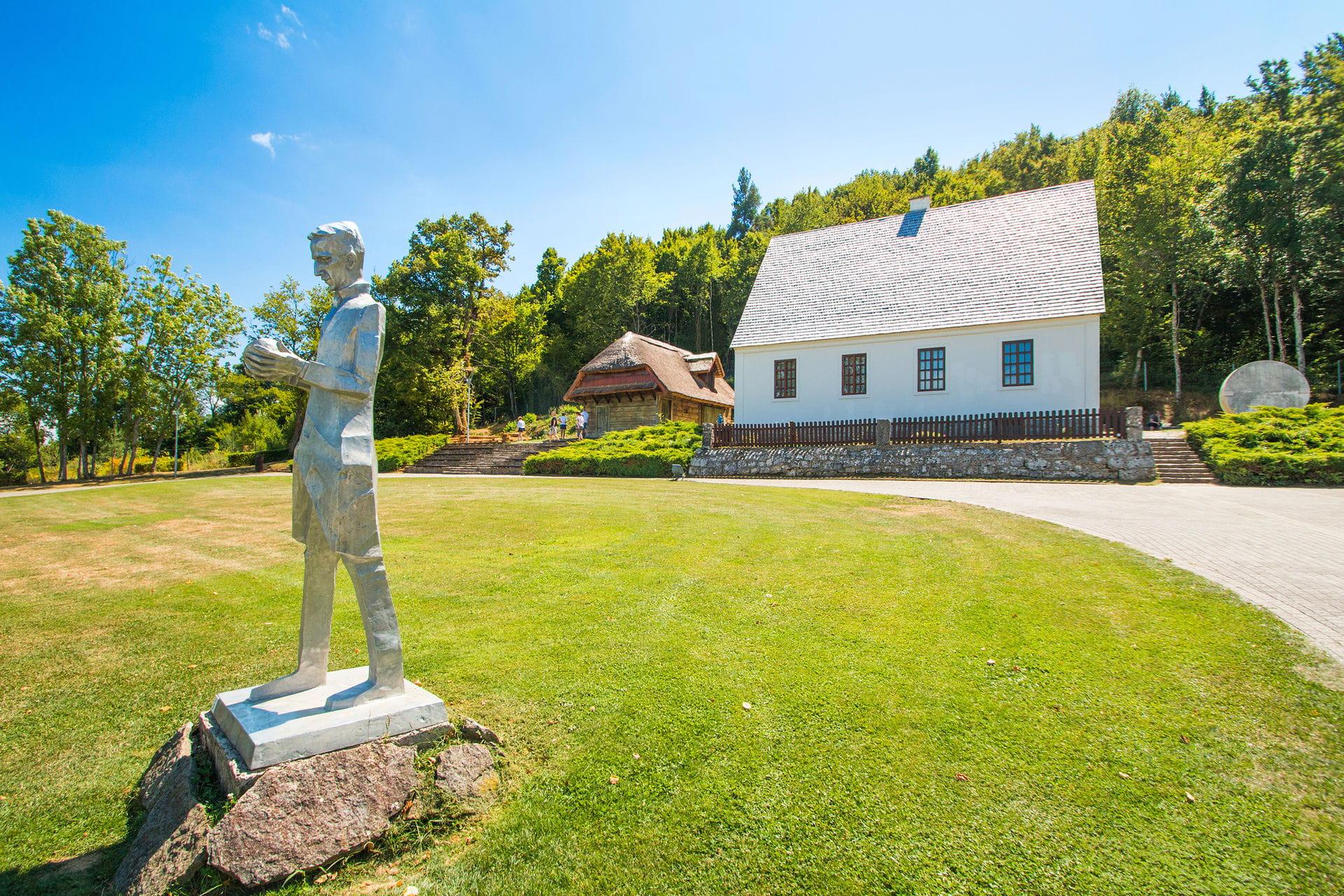 High quality hoto of Nikola Tesla Memorial Centre - Croatia
