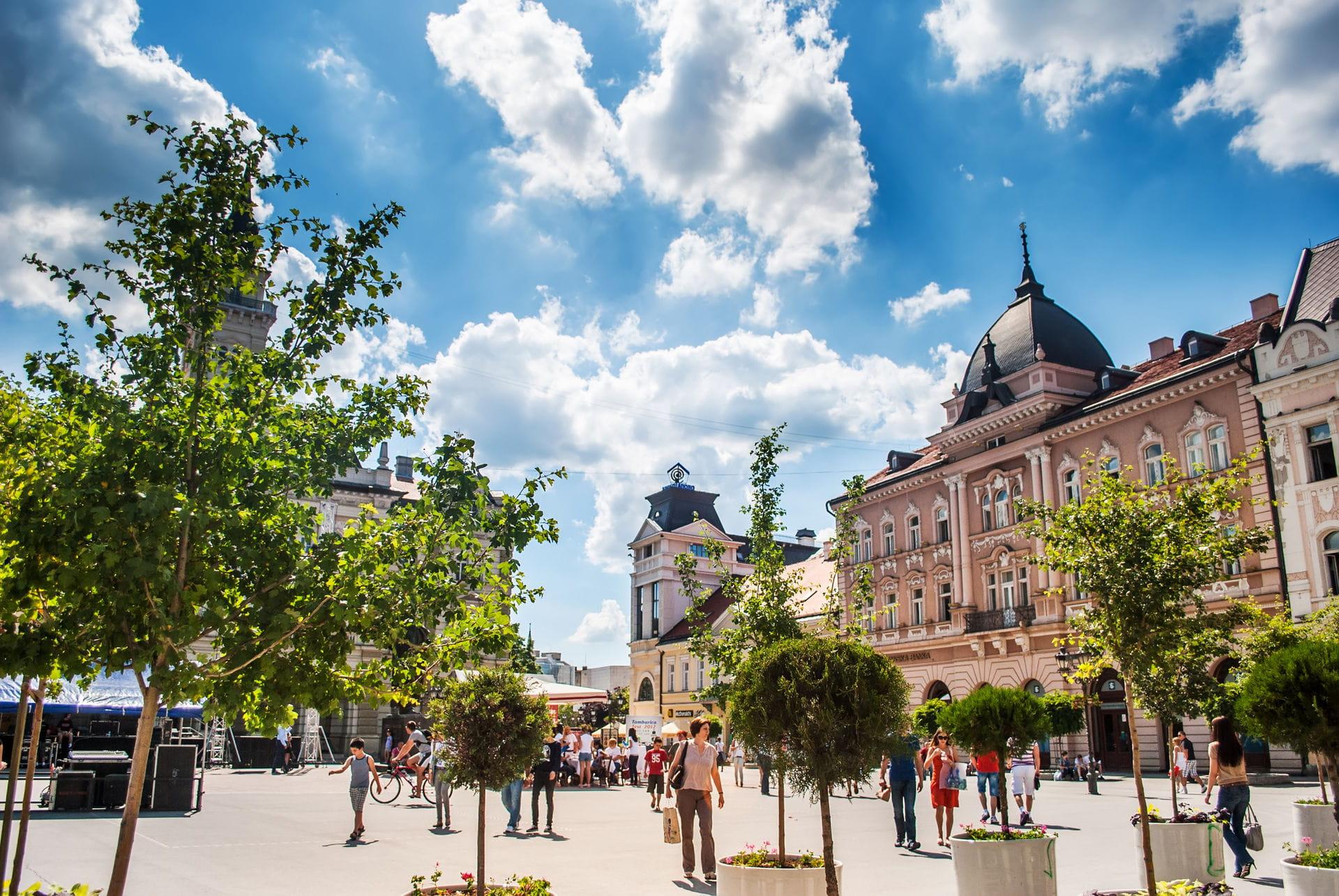 High quality hoto of Novi Sad - Serbia