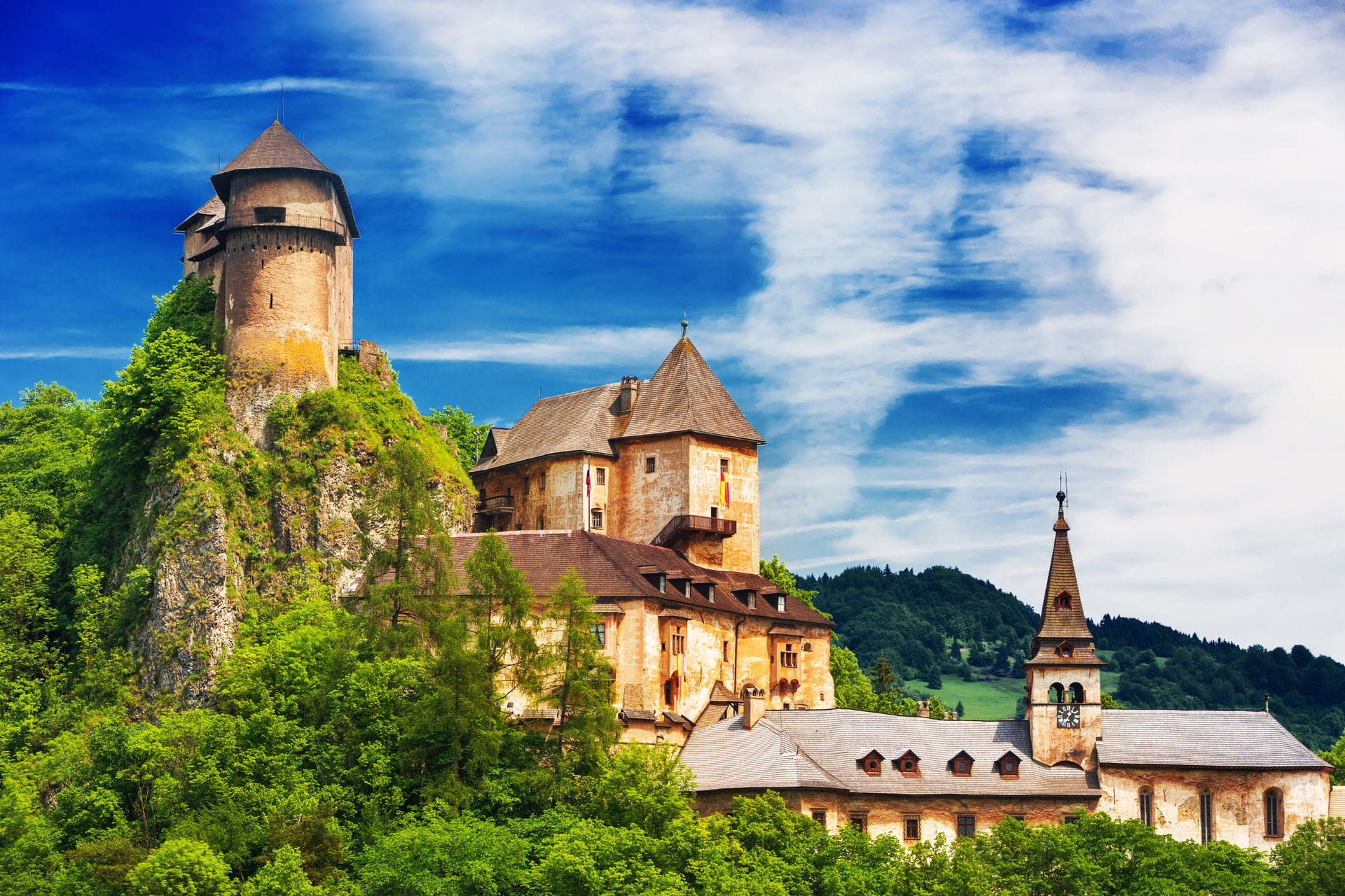 High quality hoto of Orava Castle - Slovakia