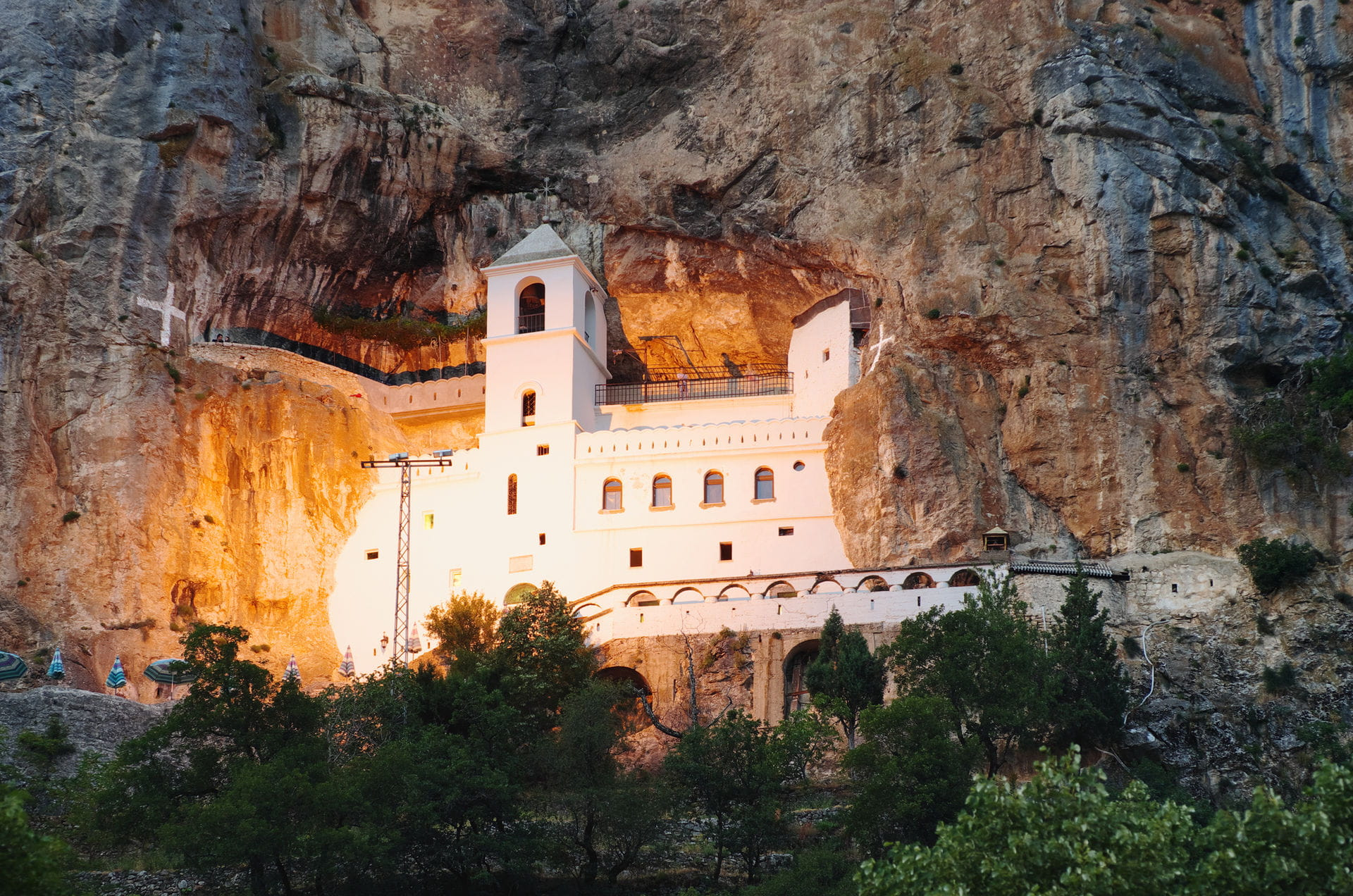 High quality hoto of Ostrog Monastery - Montenegro