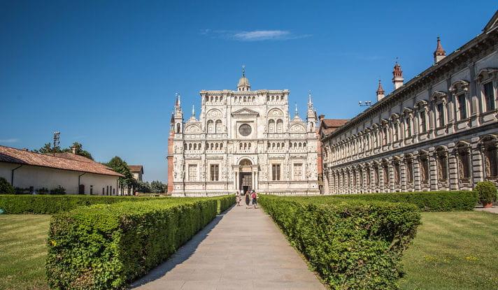Quality photo of Pavia Monastery - Italy