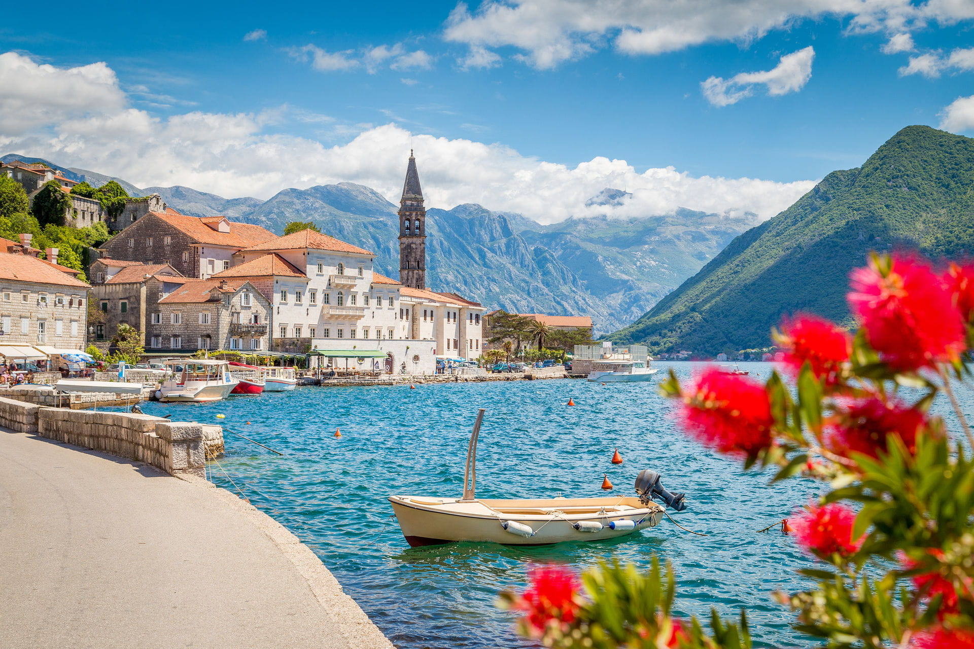 High quality hoto of Perast - Montenegro