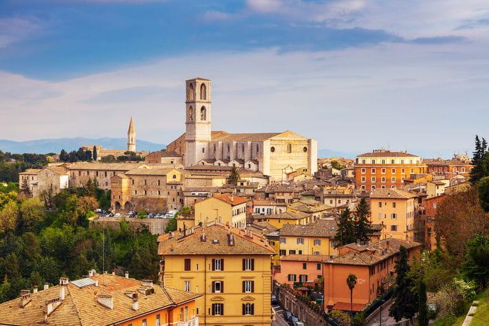 Quality photo of Perugia - Italy