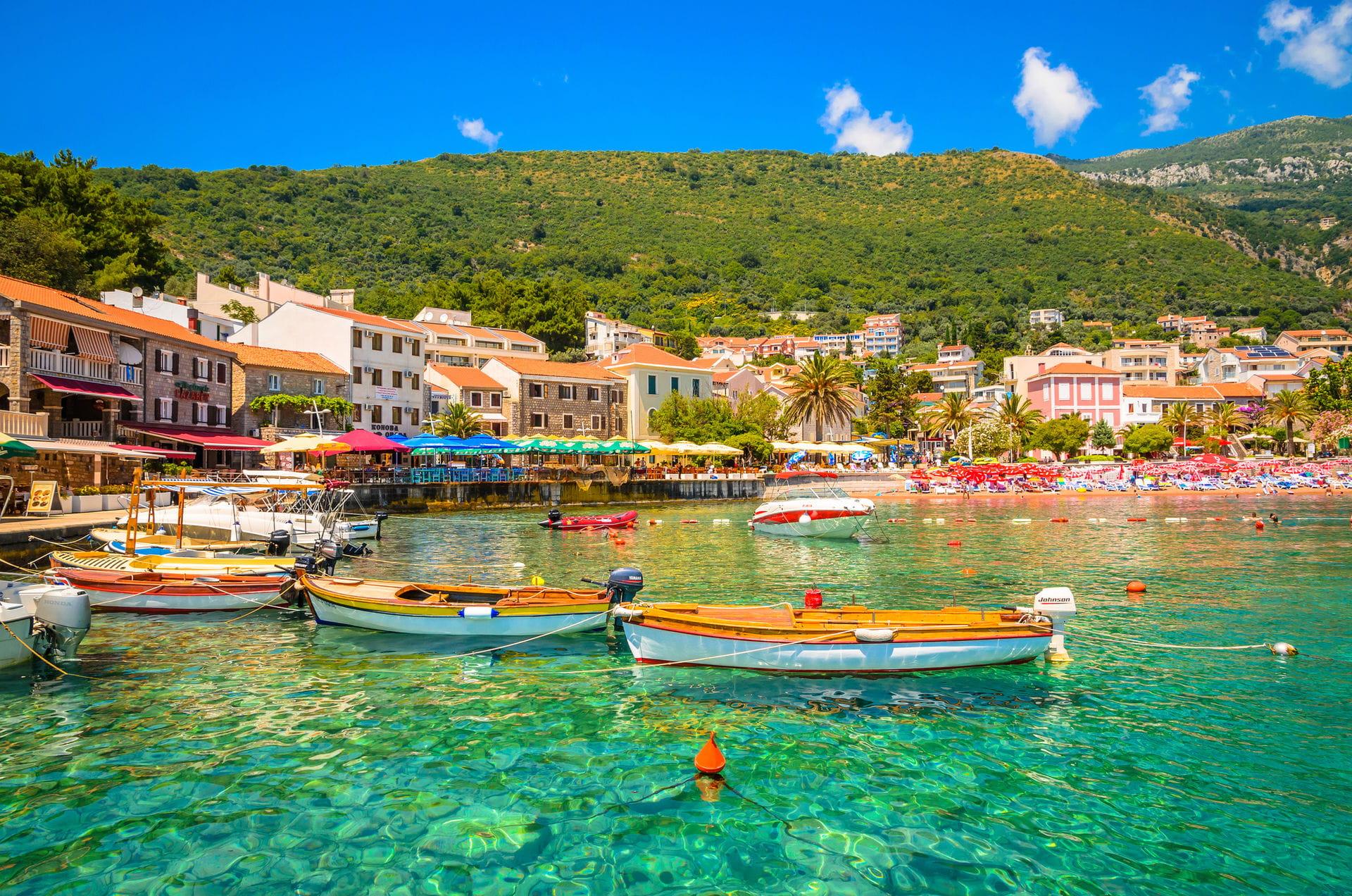 High quality hoto of Petrovac - Montenegro