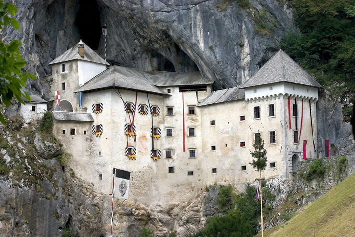 Quality photo of Predjama Castle - Slovenia