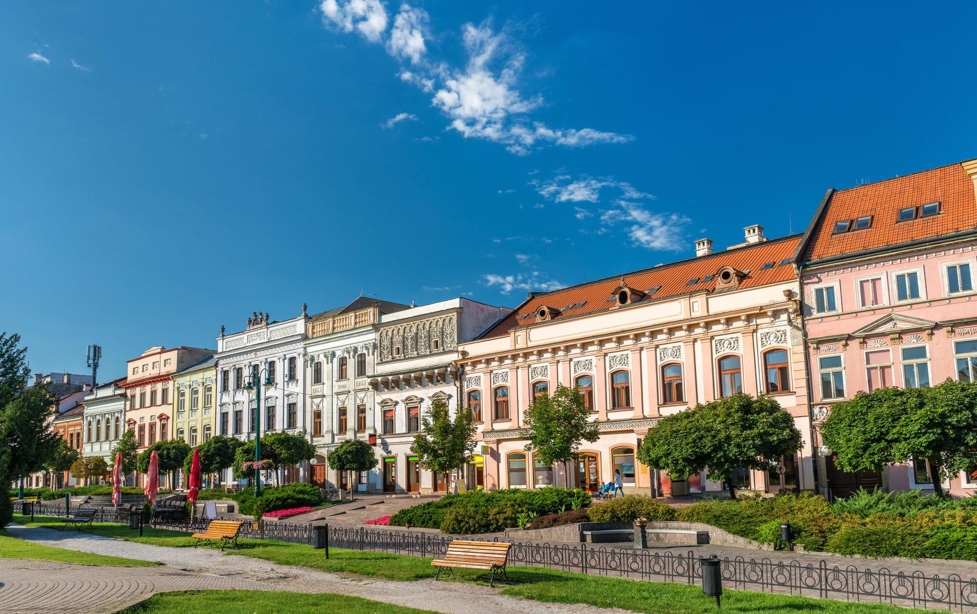 High quality hoto of Presov - Slovakia