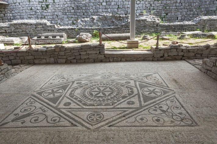 Quality photo of Risan Mosaic - Montenegro