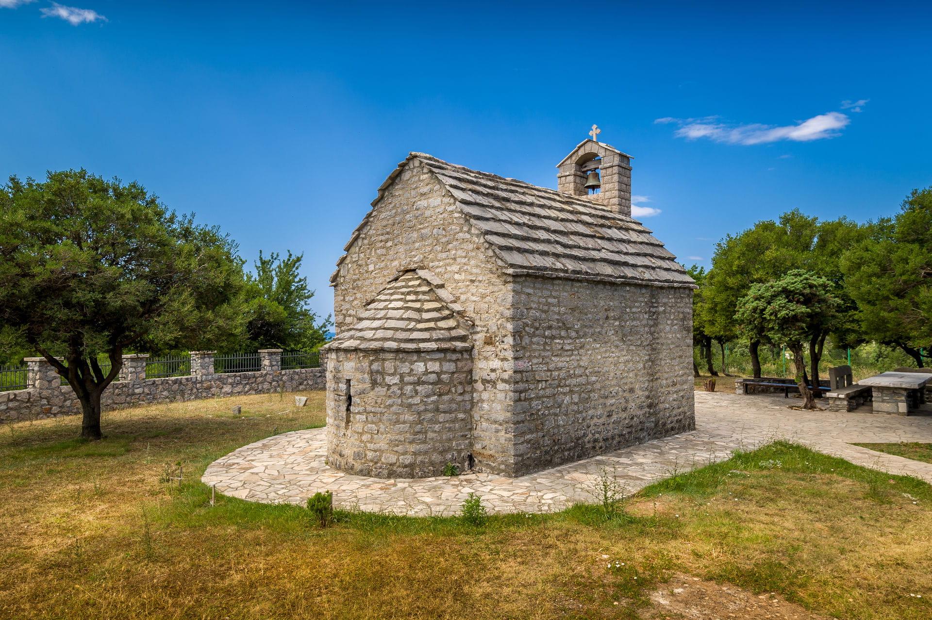 High quality hoto of Saint Petka Church - Montenegro