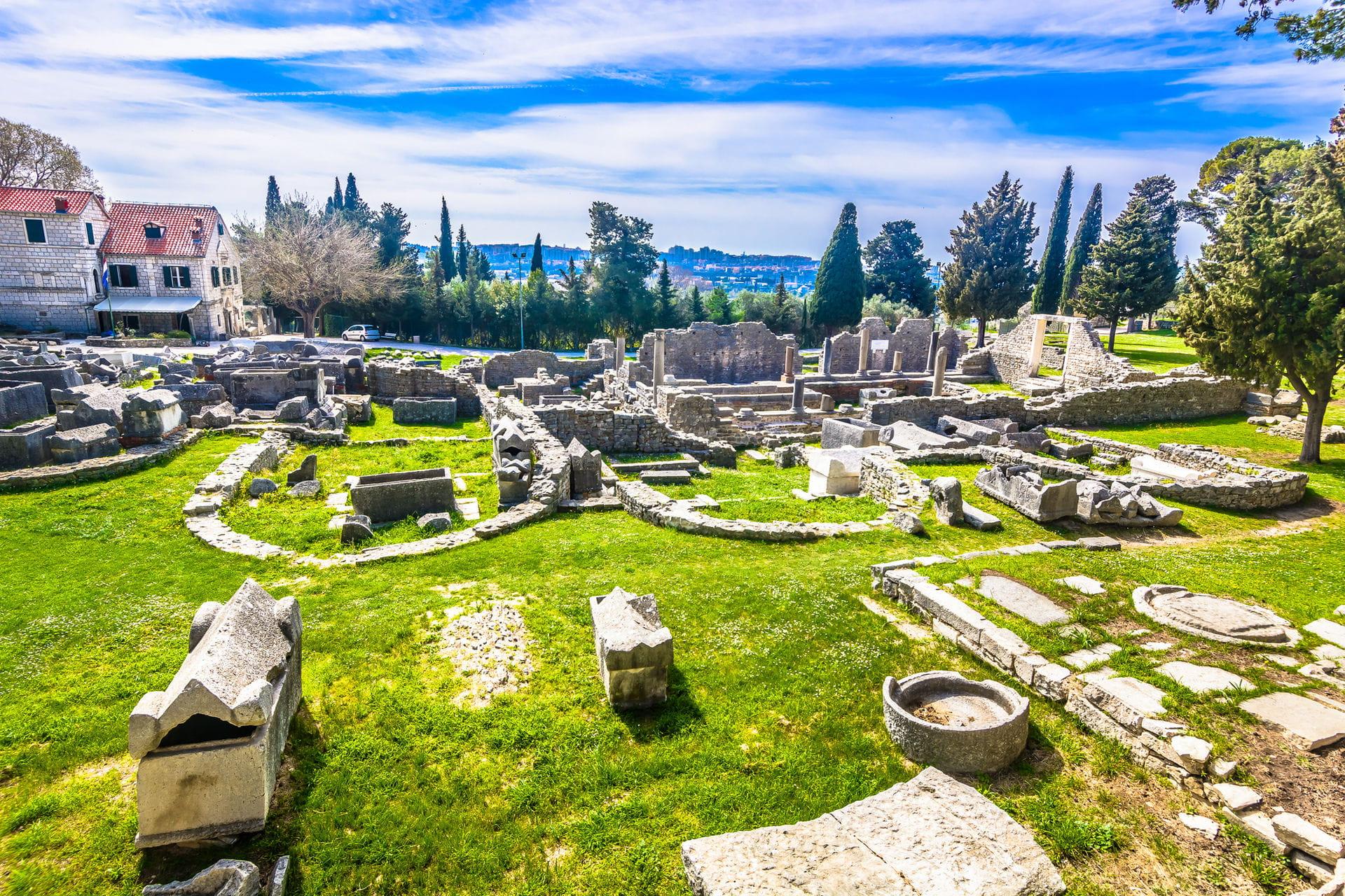 High quality hoto of Salona Ruins - Croatia