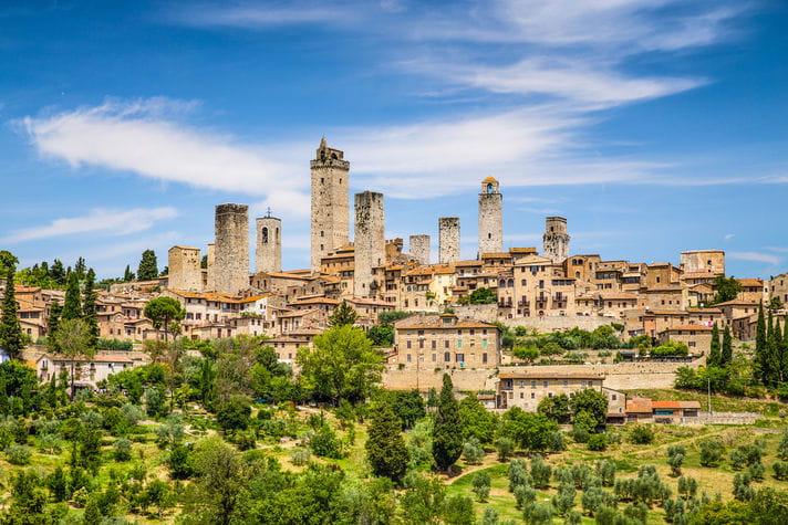 Quality photo of San Gimignano - Italy